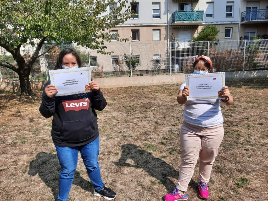 Diplome Imanne et Meriem